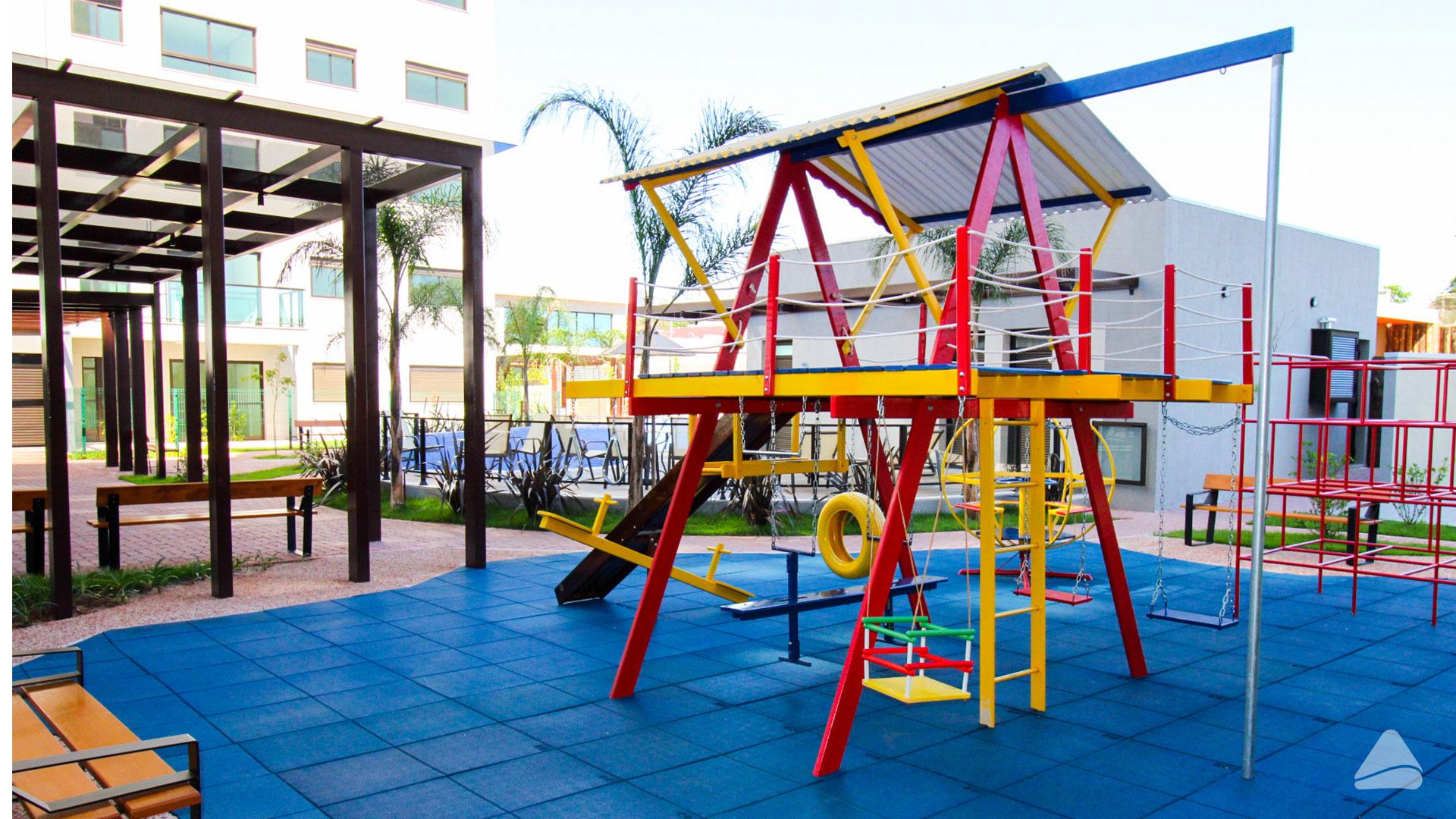 Empreendimentos com áreas de lazer ajudam no desenvolvimento infantil